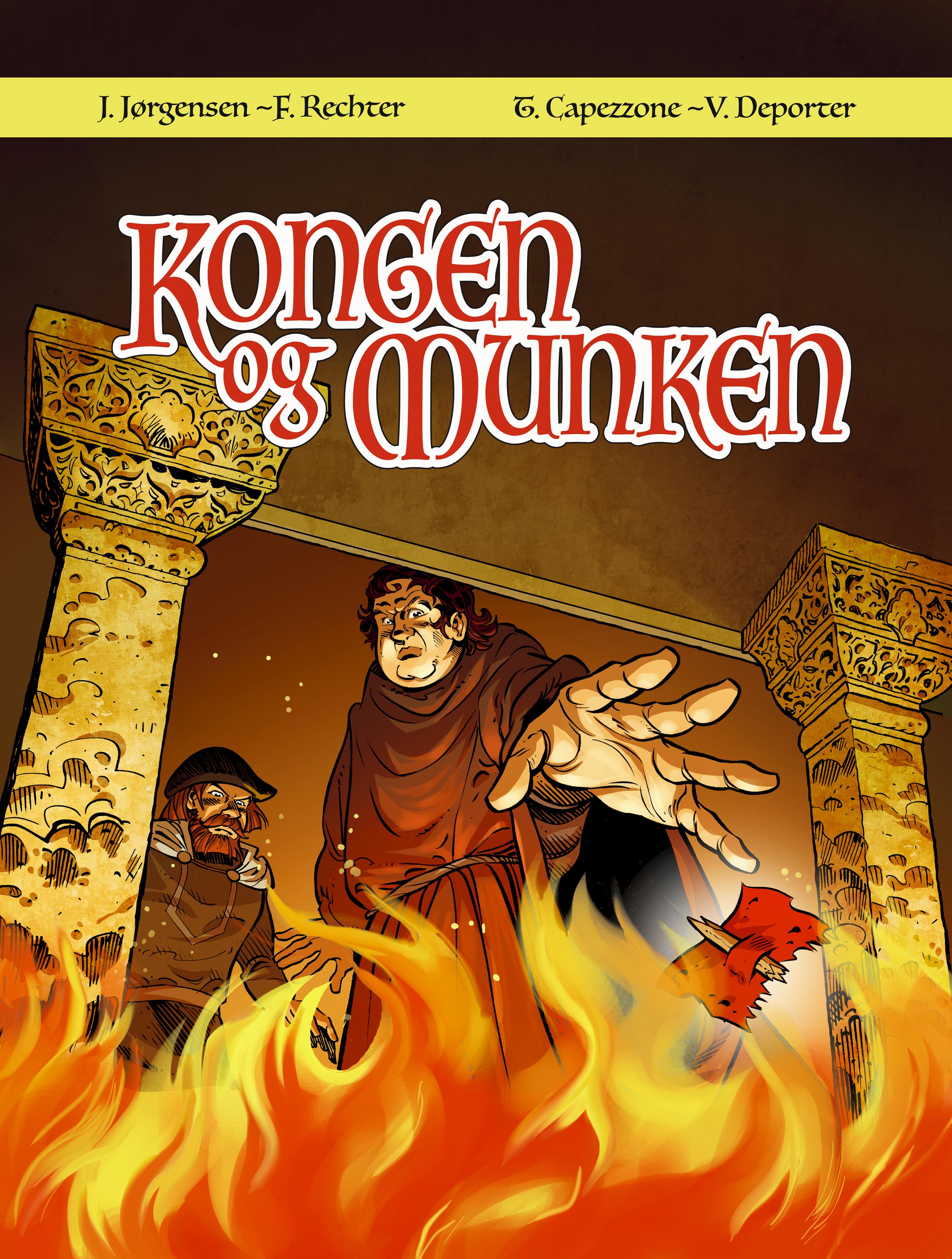 forsiden kongen og munken